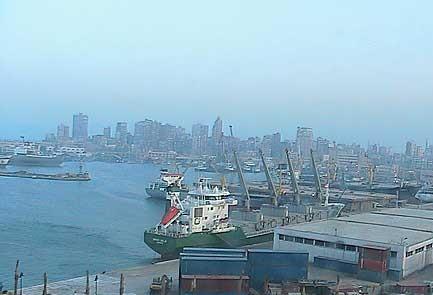 الثالث إغلاق بوغازي ميناء الاسكندرية بسبب سوء.42561