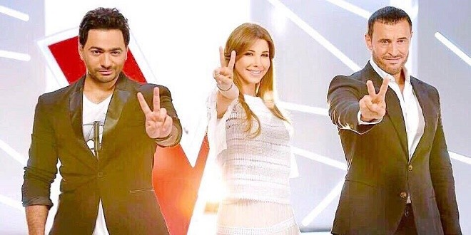 the voice kids تامر حسني و كاظم ونانسي