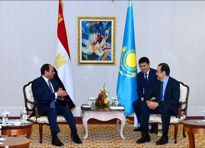 صورة السيسي: وفد مصري للاستفادة من تجربة الأستانا في إنشاء العاصمة الإدارية