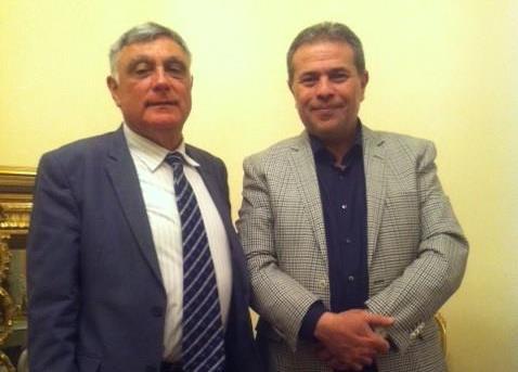 صورة السفير الإسرائيلي: سأواصل اللقاءات مع النائب البرلماني توفيق عكاشة