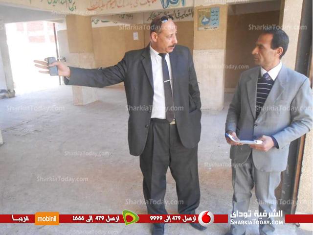 صورة بالصور..جولة لمدير تعليم بلبيس على مدارس أولاد سيف