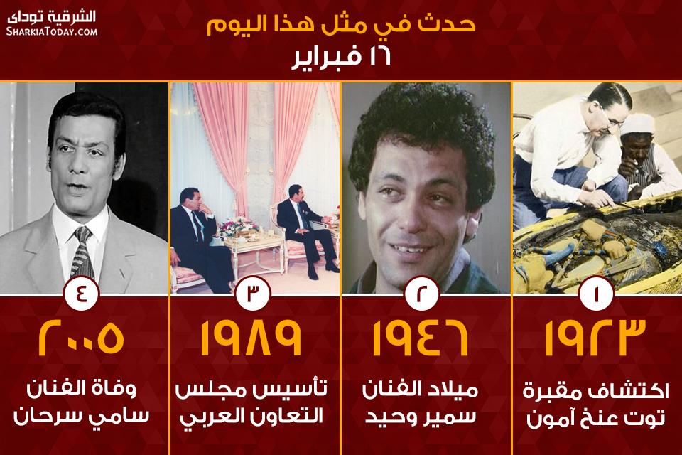 صورة اكتشاف مقبرة توت عنخ آمون و تأسيس مجلس التعاون العربي..حدث في مثل هذا اليوم 16 فبراير