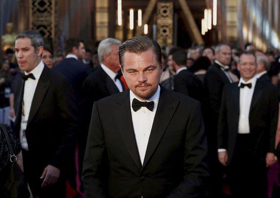 صورة ليوناردو دى كابريو يفوز بأوسكار أفضل ممثل عن فيلم The Revenant
