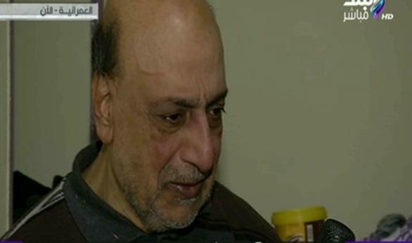 صورة بالفيديو.. مواطن يبكي على الهواء عقب استجابة النجدة لاستغاثته