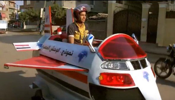 صورة مخترع الوحش المصري: حرقته في الترعة ومستعد اتعدم