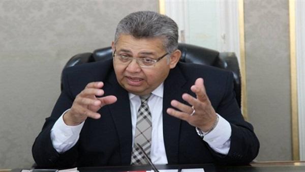 صورة وزير التعليم العالى أشرف الشيحى : أنا تعبت من الإعلام مش من الشغل