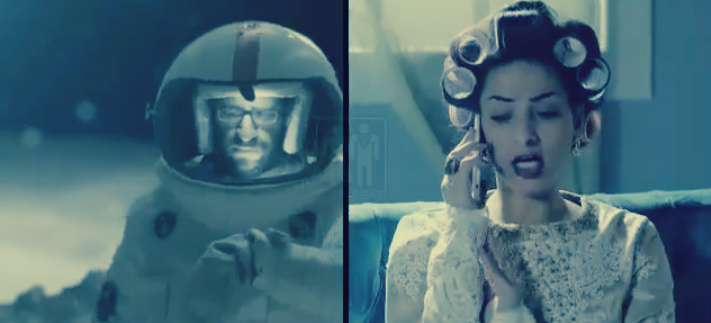 صورة بالفيديو ..رائد فضاء مصري يوجه رسالة لزوجته من عطارد