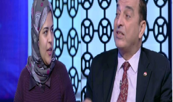 صورة بالفيديو.. مشادة كلامية بين داليا زيادة وعصام النظامي على الهواء