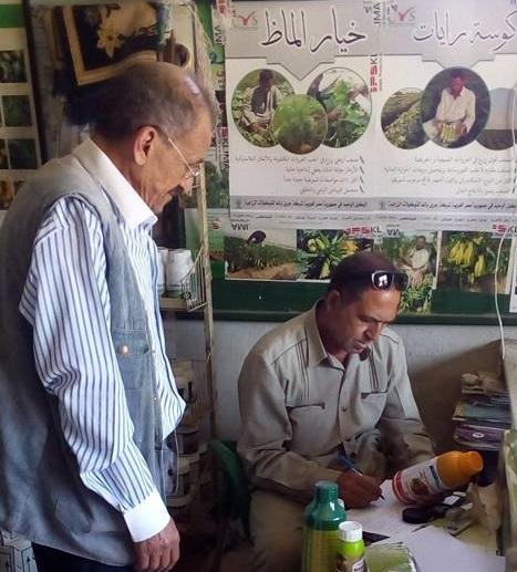 صورة ضبط أكثر من 400 عبوة مبيدات زراعية منتهية الصلاحية بمدينة الصالحية الجديدة