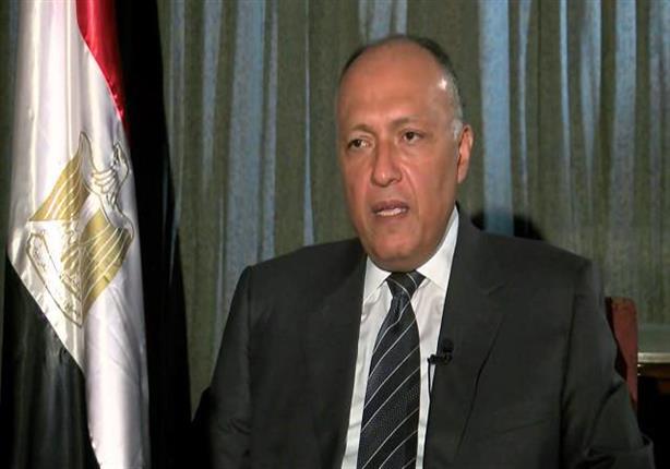 صورة وزير الخارجية: مصر لم تملك السيادة على صنافير وتيران من الأساس