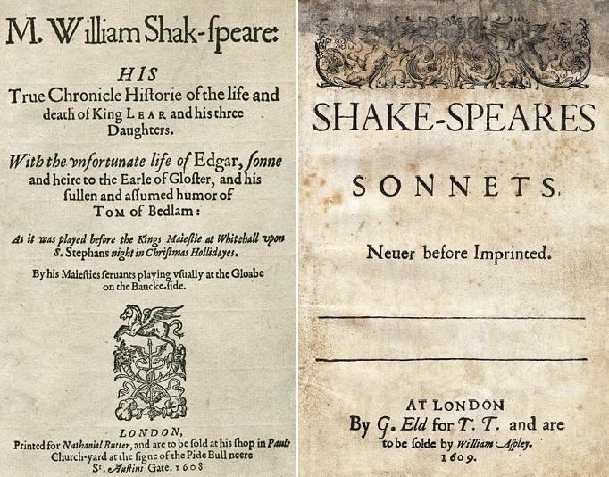 صورة شكسبير الذي توفي منذ 400 عام وللآن يكتبون اسمه خطأ