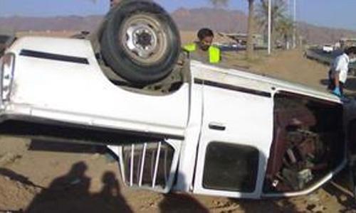 صورة إصابة 8 أشخاص بحادث بطريق «الصالحية – فاقوس»