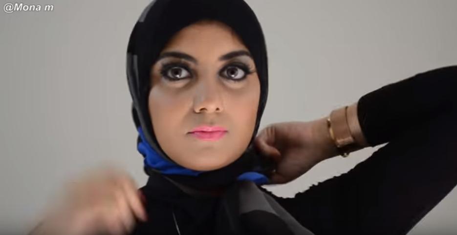صورة بالفيديو .. لفات حجاب سهلة وبسيطة