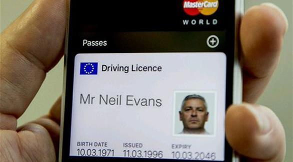 صورة قريباً.. تخزين رخصة القيادة رقمياً على آي فون