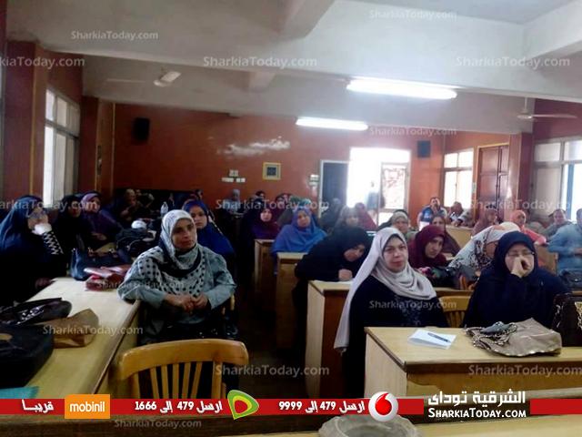 صورة قومي المرأة يعقد ندوة بعنوان المخلفات الإلكترونية