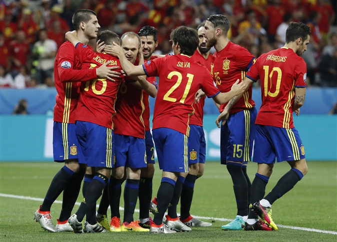 صورة إسبانيا تقسو على تركيا وتهزمها بثلاثية وتصعد لدور الـ16 بأمم أوروبا
