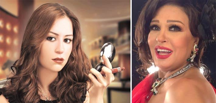 صورة بالفيديو .. كيف ردت منة شلبي على فيفي عبده عندما قالت لها  «نفسي أفرح بيكي»