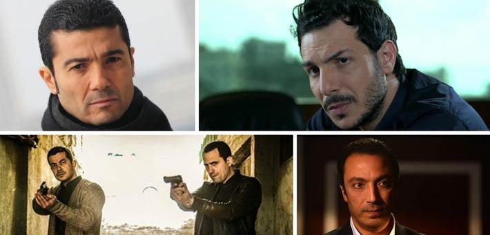 صورة 5 ضباط شرطة أبطال مسلسلات رمضان