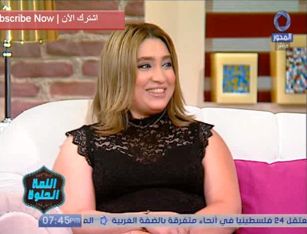 الحلوة شيماء الحسيني تقدم احدث صحيات الموضه لأم العروسة