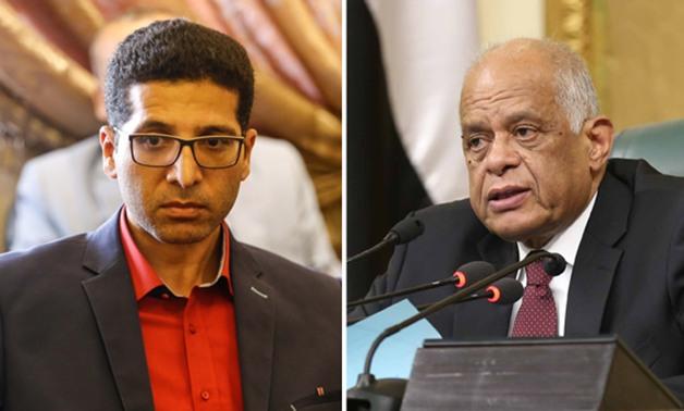وجذب بين «عبد العال» و«الحريرى» بسبب تأجيل مناقشة المادة 16 من الخدمة المدنية