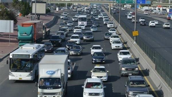 مرورية مرتفعة على جميع الطرق والمحاور الرئيسية
