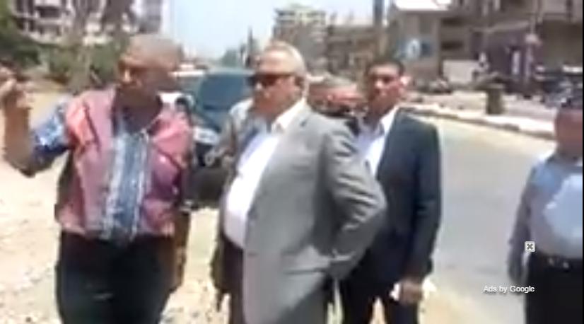الشرقية يتفقد أعمال تجهيز منطقة مواقف أبو حماد القرين التل الكبير