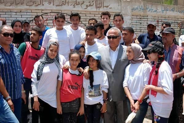 الشرقية يشيد بالجمعيات لمشاركتها حملة «حلوة يابلدي»