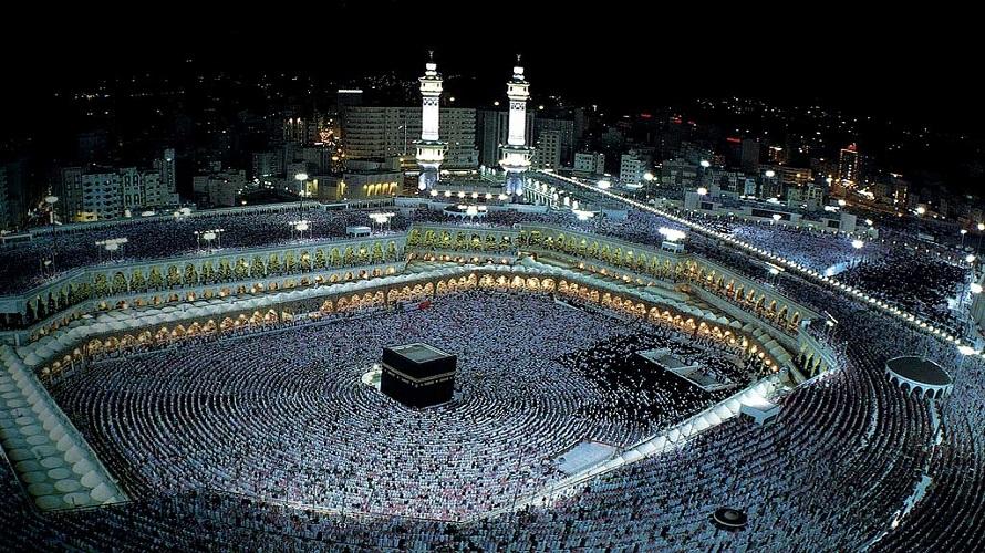 صورة بالفيديو..مشهد مهيب..ليلة ختم القرآن بالحرم المكي