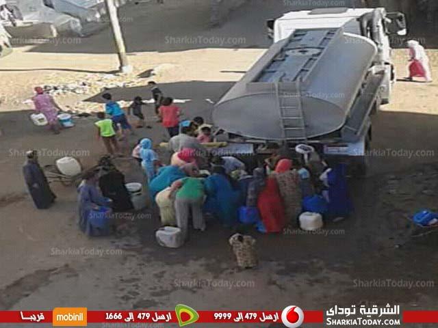 صورة رؤية الماء حلم أهالي عزبة «ورثة حسين» بأولاد صقر