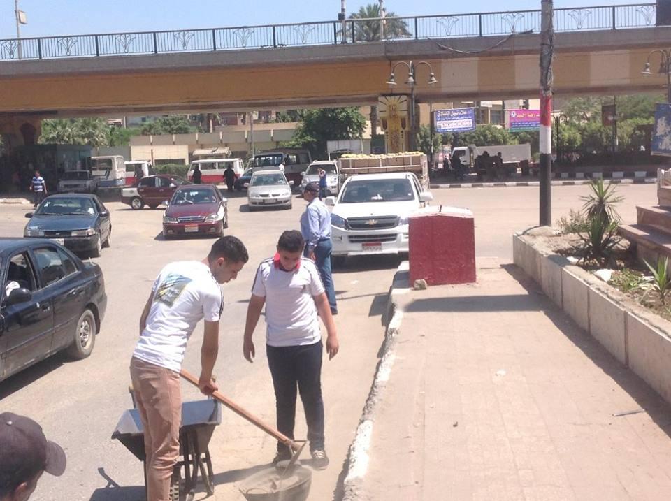 صورة بالصور …إنطلاق مبادرة «حلوة يا بلدي» بالشرقية