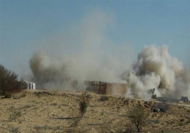 صورة مقتل سيدة وإصابة 6 آخرين في سقوط قذيفة على منزل بالشيخ زويد