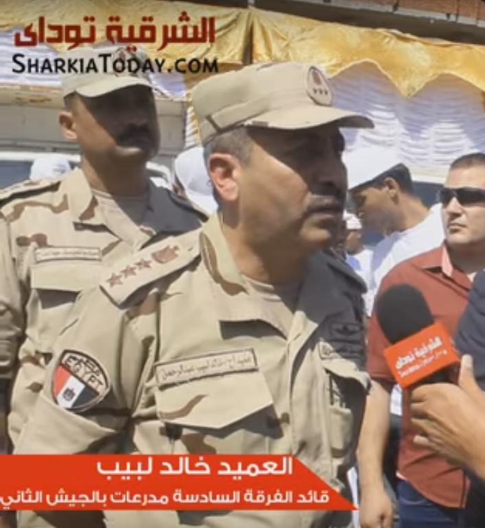 .. الجيش يبدأ حملة لتجميل وتطوير حى مبارك بالزقازيق