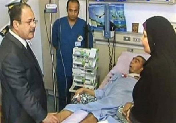 صورة بعد 3 سنوات من إصابته في فض رابعة.. وفاة النقيب مصطفى يسري