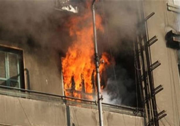 صورة حريق بمستشفى الدمرداش والمطافئ تدفع بـ6 سيارات