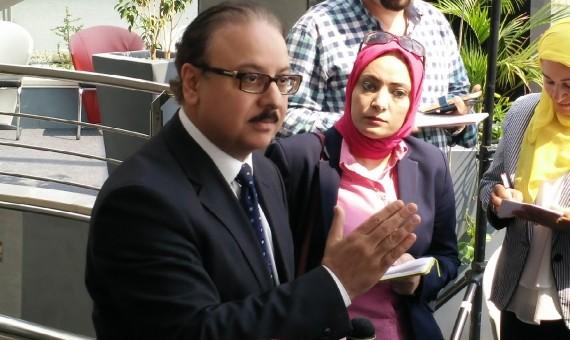مصر يكشف أسباب خناقة النائب رضا البلتاجي مع وزير الاتصالات