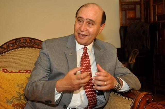 صورة مهاب مميش: إرادة المصريين ستصنع المجد والتاريخ فى الفترة المقبلة