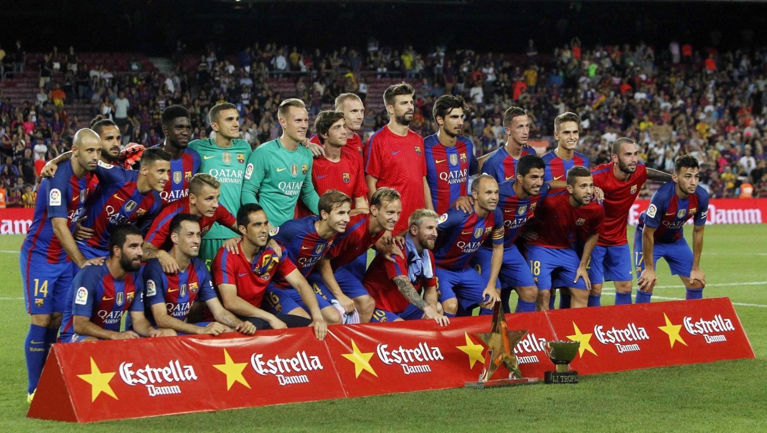 صورة تعرف على موعد مباراة إشبيلية و برشلونة اليوم
