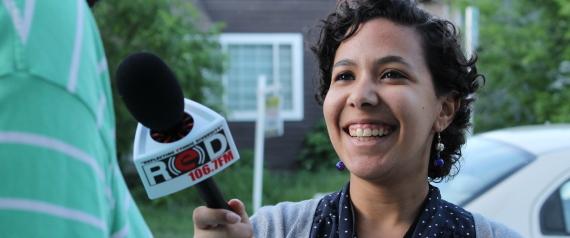 للدراسة فأصبحت إعلامية.. شابة مصرية تقدم برنامجاً ناجحاً في كندا