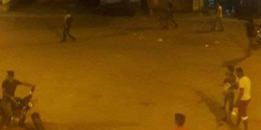 صورة سجناء يشعلون النار بحجز قسم السلام للهرب..والأمن يسيطر على الموقف