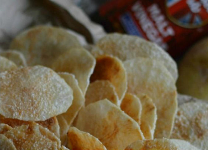 بطاطس شيبس مقرمشة لا تزيد الوزن