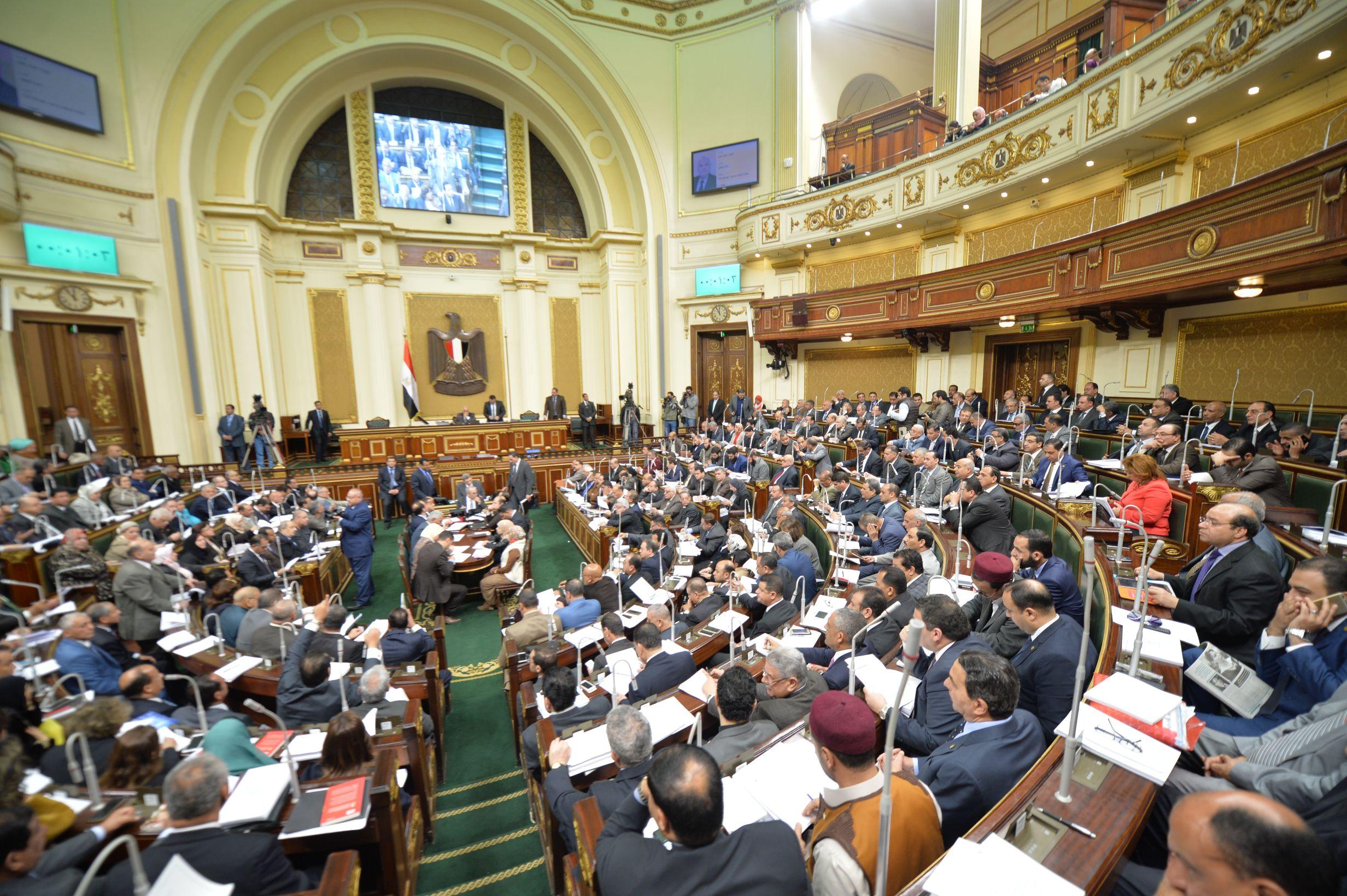 صورة بيان عاجل في مجلس النواب بسبب عدم تجديد إجازات أبناء الشرقية العاملين بالخارج