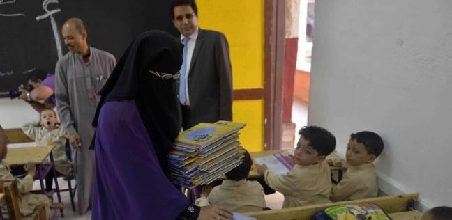 صورة وزير التعليم لمعلمات رياض الأطفال والأساسى : بلاش ارتداء النقاب داخل الفصول