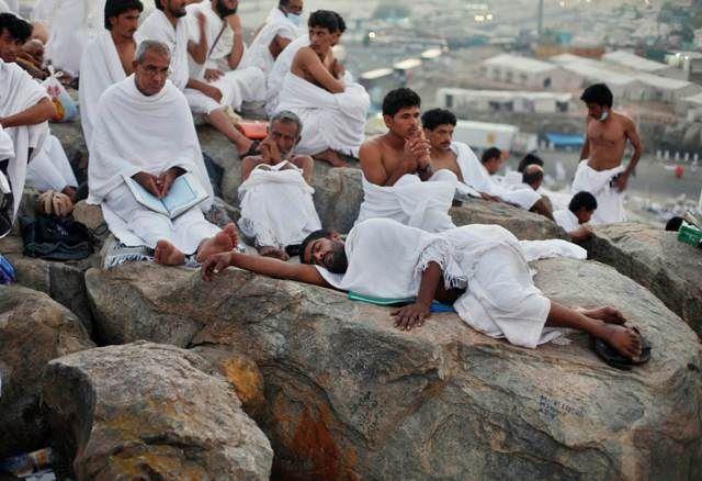 صورة تصعيد الحجاج إلى «عرفات» غدًا