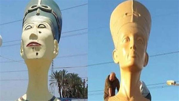 صورة رئيس هيئة الآثار الأسبق: تماثيل الميادين ليست بدعة