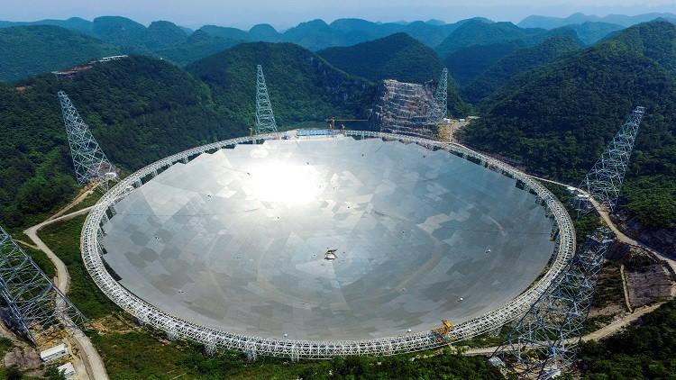 صورة الصين تعلن تشغيل أكبر تلسكوب للبحث عن علامات للحياة خارج المجرة