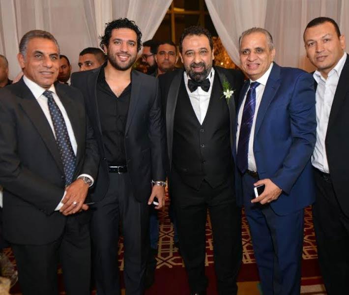 صورة بالصور..نجوم الفن والرياضة في زفاف نجل مجدي عبد الغني