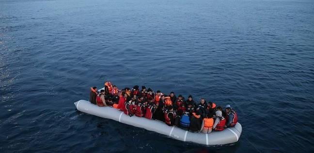 صورة إنقاذ 2300 مهاجر قبالة السواحل الليبية