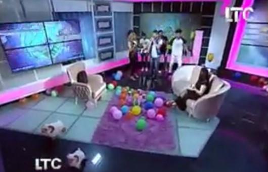 صورة بالفيديو.. مذيعة LTC تدخل في وصلة رقص على الهواء