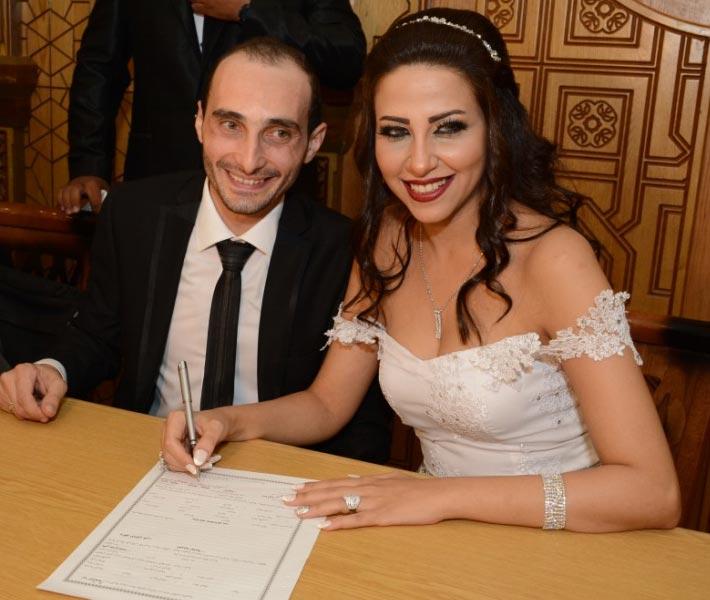 صورة 15 صورة من حفل زفاف ياسمين جمال ومعوض إسماعيل.. دموع الفرح وحضور المشاهير