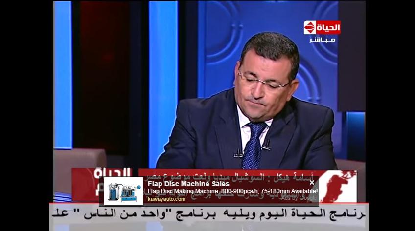صورة أسامة هيكل: الإعلام في مصر بلا عقل